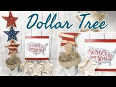 I am excited to share more of JULY DIY DECOR with you. These Dollar Tree DIY projects are quick and easy. If you want more rustic decor and decor on a bu. 4th July Crafts, Fourth Of July Decor, 4th Of July Fireworks, 4th Of July Decorations, July 4th, Patriotic Crafts, Dollar Tree Decor, Dollar Tree Crafts, Diy On A Budget