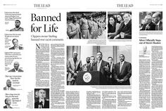 Banned for Life—Clippers owner Sterling banned over racist comments|Epoch Times #newspaper #editorialdesign