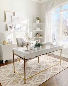10 Ingenious Home Office Ideas for Ultimate Workspace - Office Desk - Ideas of O. - Home Decoration : 10 Ingenious Home Office Ideas for Ultimate Workspace - Office Desk - Ideas of O. Home Office Space, Home Office Design, Home Office Decor, Home Design, Office Designs, Bedroom Office, Home Office Table, Office Rug, Workspace Design