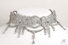 A Stunning and Rare Edwardian Necklace. Circa 1900.