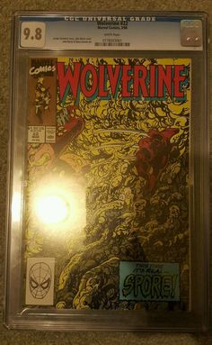 WOLVERINE #22 CGC 9.8 Graded Marvel Comic