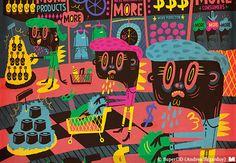 SuperDD (Andrea Sagardoy) | Ilustradores Argentinos | La Ilustración Argentina Destacada