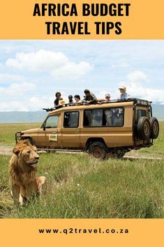 a few Africa budget travel tips to help you negotiate your way out in Africa. Budget Travel, Us Travel, Travel Tips, Budgeting, Van, African, Adventure, How To Plan, Blog