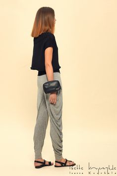 IOANNA KOURBELA Spring 2016 14110 Fabric Composition 100% Cotton Spring 2016, Composition, Harem Pants, Black And White, Fabric, Cotton, Collection, Tops, Fashion