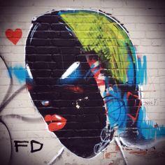 the black lady.  @ queen street west & peter street