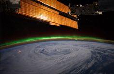 Aurora Borealis From Space | Aurora Borealis From Space Station 2012 Of the aurora borealis,