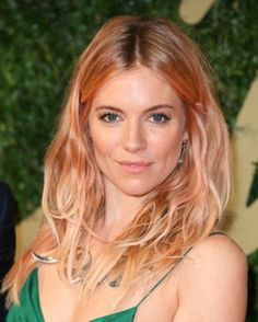 Loving this Rose gold hair, heavenly! Saw a box of hair color in the store. Wonder if I could pull it off.