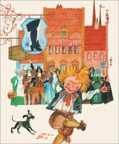 The Emperor's New Clothes by Hans Christian Andersen. Illustrator A. Kashkurevich, 1984.