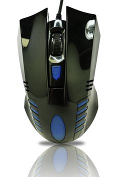 A More Comfortable Gaming Experience  The 2400 DPI Optical Luminous Game Mouse with 7 Buttons is proportioned and streamlined to fit comfortably into your hand, so that you can play for hours without cramping or fatigue. The grooved front keeps your fingers slightly raised, allowing you to respond more quickly with the necessary clicks to stay on top of the game