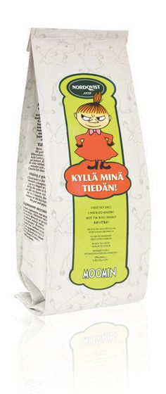Nordqvist Moomin Tea Little My I should know! Traditional Finnish Black Tea with lemon flavor #moomin