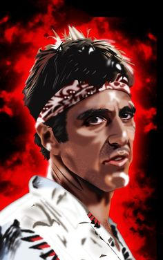 Scarface - Tony Montana as a dish washer #GangsterMovie #GangsterFlick