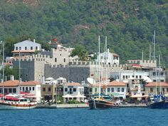 Marmaris castle Marmaris, Ancient History, Old Town, Wonders Of The World, Castles, Istanbul, Destinations, Asia, Island