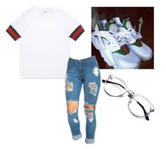 """Untitled #18"" by qveenmm on Polyvore featuring Gucci"