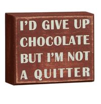 I'm not a quitter....
