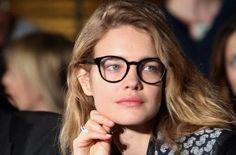 #Glasses #Natalia #Vodianova #Nerd-Brille