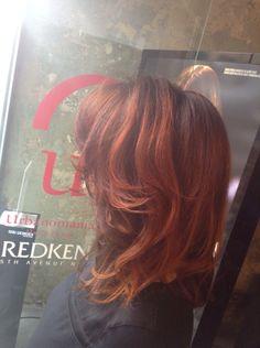 #urbanglamilano #coloredhair #italianstyle #hairstyle #urbanomania