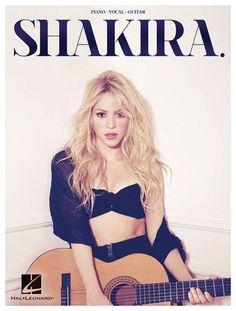 Hal Leonard - Shakira Songbook - White/Black/Brown