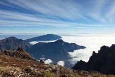 Canary Islands. La Palma. Caldera de Taburiente