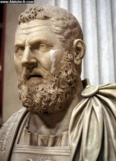 Pertinax - made emperor by the praetorian guard after Commodus was killed. The guard was promised a large donation, but Pertinax refused to come through with it. The praetorian guard then put Pertinax to death. The 19th Emperor of Rome.