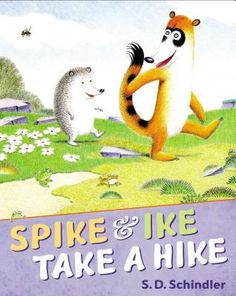 #thegreatoutdoors Great for ages 3-6. Spike the hedgehog and Ike the coatimundi go on a lively walk through the ever-changing landscape, meeting other animals along the way.
