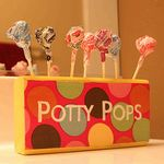 Potty pops! What a great idea :) maybe this will be just the thing we need to finish the potty training!
