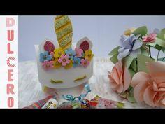 Dulcero de unicornio para una fiesta infantil