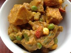 Korma are amazing Indian curries made rich with the addition of cream and nuts. Some are also made with dried fruit like golden raisins. Navratan means nine gems or jewels, and refers in this dish to the use of nine key vegetables.