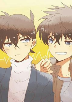 Shinichi and Kaito :3
