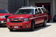 Battalion 6 Fire Chief car