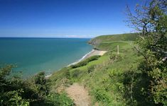 Ceredigion Coast Path Aberporth to LLangrannog, been here & done this!!!!!
