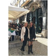 guys today was the day to discovery  Lisbon with my friend @susanawerner (Julio's goal keepers @slbenfica wife) Here is some places that I suggest you to go when you come to Lisbon. - for a good food - sea me  rua do loreto 21 - for the best graciously Portuguese cake manteigaria  rua do loreto 2- Portugal - for the tasty ice cream santins @geladosantini - for staying - @bessahotel  Hope you enjoy it. ---------------------------------------  gente não teria companhia melhor para nos levar a…