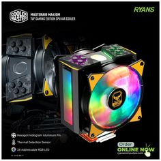 Pc Components, Cooler Master, Hologram, Computer Accessories, 1 Year, Gaming, Technology, Led, Website