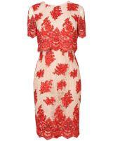 Women's Red Ariel Lace Dress