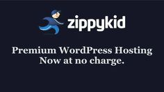 With ZippyKid WordPress Hosting is Now Free by Zippy Kid. Put your credit cards away, because ZippyKid is now free. Get the same great support, security, and hardware as before. Premium WordPress at no charge.