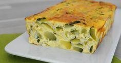 Dans ma famille, on a toujours appelé ce plat untian de courgettes mais en réalitél'appellationde terrine de courgettes lui conviendrait ...