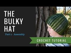 Now Available: The Basic Hat - Hats Worked Flat - Free Crochet Pattern • Oombawka Design Crochet