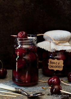 Little Sugar Snaps - Cinnamon Bourbon Cherries - Imgur