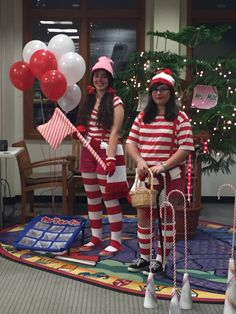 Life-Sized Candy Land fun - thanks to our teen volunteers! More photos on our Facebook page!