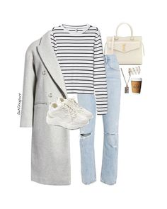 Light Jeans, Go Outside, What To Wear, Ootd, Style Inspiration, Clothing Ideas, Amelia, Womens Fashion, Polyvore