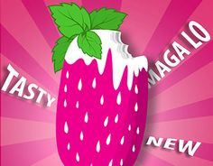 """Check out new work on my @Behance portfolio: """"MAGALO ice cream"""" http://on.be.net/1Dkd4XJ"""