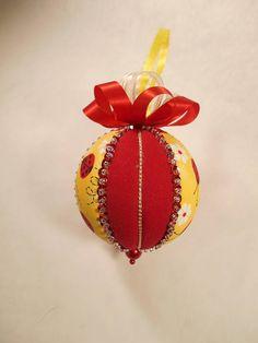 Ladybug Ornament Birthday Present Quilt Batting Holiday