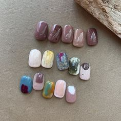 Gel Nails, Nail Polish, Nail Designs, Beauty, Nailart, Instagram, Gel Nail, Nail Design, Beauty Illustration