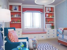 Love this kids room! The color combo is amazing!