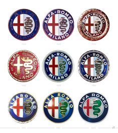 Alfa Romeo Logo History