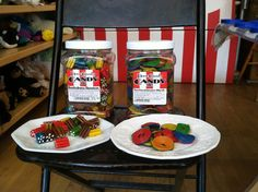 Kookaburra Shooters and Two Faced Licorice wheels!  #licorice #candy #lifeissweet
