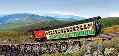 Mount Washington  Cog Railway    Base Road  Six miles off Route 302  Bretton Woods  New Hampshire 03575  TEL: 800-922-8825  603-278-5404 in NH  FAX: 603-278-5830