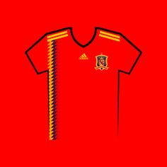Vote for your favourite World Cup shirt! Spain World Cup Shirt Vector World Cup Shirts, World Cup Teams, Team Shirts, Your Favorite, Russia, Spain, Kit, Football Jerseys, Spanish
