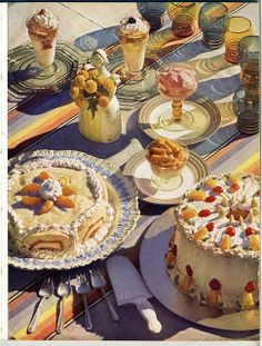 retro sweets - 4 Stars & Up: Grocery & Gourmet Food Retro Recipes, Vintage Recipes, Dog Recipes, Food Styling, Photo Food, Cute Cakes, Food Illustrations, Aesthetic Food, Cute Food