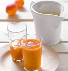 Smoothie abricots et agrumes http://www.marieclaireidees.com/,smoothie-d-abricots-et-d-agrumes,2610309,132044.asp