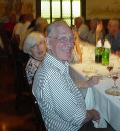 pic 108. Shot 18. This Gentleman and his Wife attended Hannelies's 75th Luncheon as well.  I will try to find out who they are.  2007.